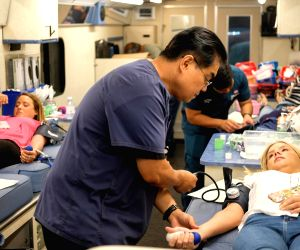 U.S.-LOS ANGELES-WORLD BLOOD DONOR DAY