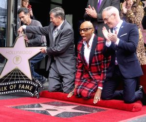 U.S.-LOS ANGELES-RUPAUL-HOLLYWOOD WALK OF FAME-STAR