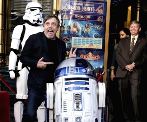 U.S. LOS ANGELES MARK HAMILL STAR HOLLYWOOD