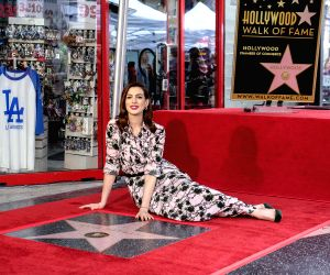 U.S. LOS ANGELES HOLLYWOOD STAR CEREMONY