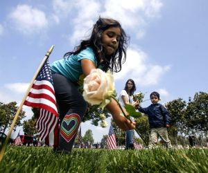 U.S.-LOS ANGELES-MEMORIAL DAY