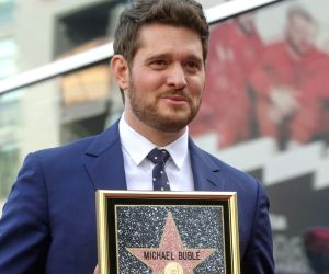 U.S.-Los Angeles Micheal Buble Star