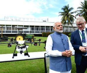 Los Banos: PM Modi visits IRRI
