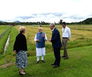 Los Banos (Philippines): PM Modi visits IRRI
