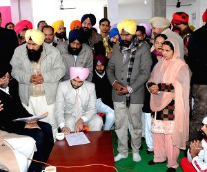 Ludhiana: Punjab CM during a Sangat Darshan programme