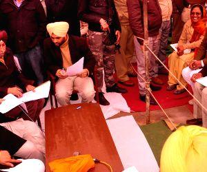 Punjab CM public meeting