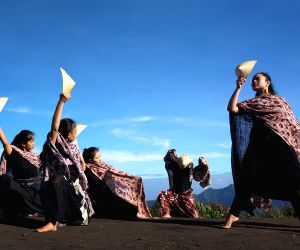 INDONESIA-LUMAJANG-CONTEMPORARY DANCE PERFORMANCE