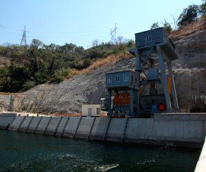 Dam of Kariba hydropower station