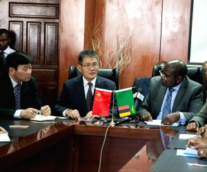 ZAMBIA LUSAKA CHOLERA OUTBREAK CHINA DONATION