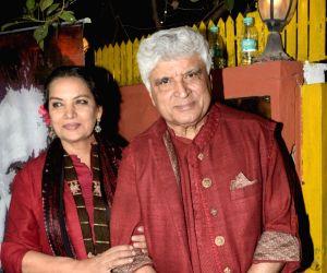Javed Akhtar shares an update on Shabana Azmi's health