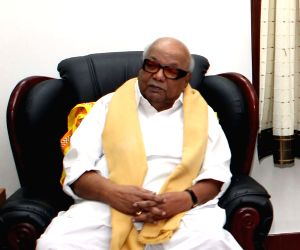 Karunanidhi responsible for CMs unfurling tricolour