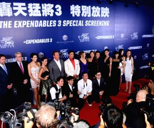 "Special screenings and red carpet event of ""The Expendables 3"""
