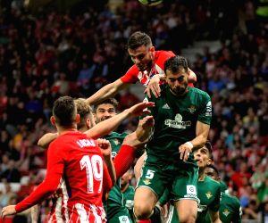 SPAIN-MADRID-SPANISH LEAGUE-ATLETICO VS REAL BETIS