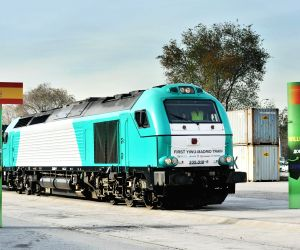Madrid (Spain): Yixinou train arrives in Madrid after 13,052 km