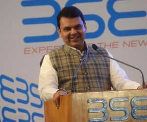 Bell ringing ceremony at the listing of 200 companies on BSE - Devendra Fadnavis