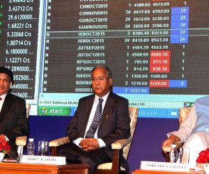 Jaitley during a function to mark the merger of Forward Markets Commission SEBI