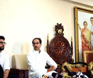 Uddhav Thackeray's press conference