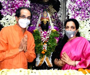 Uddhav Thackeray offer prayers to Lord Vitthala on Ashadhi Ekadashi