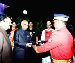 Maharashtra Governor hosts dinner for President Kovind