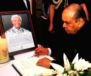 Maharashtra Governor K Sankaranarayanan pays tribute to Nelson Mandela