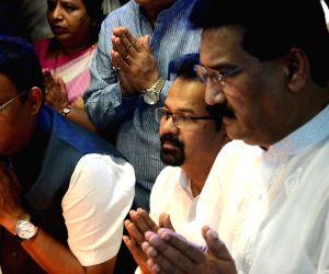 Vinod Tawde pays tribute to Dr B.R. Ambedkar