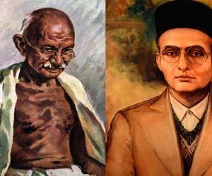 When Mahatma Gandhi met Veer Savarkar