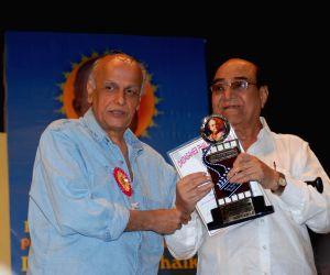 """Mahesh Bhatt at """"Dadasaheb Phalke"""" award."""