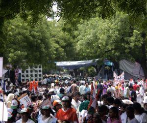 Mahila Congress demonstration against Modi government