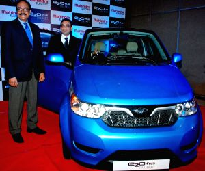 Mahindra launches 'e2oPlus