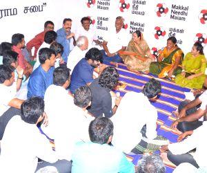 Mock gram sabha - Kamal Haasan