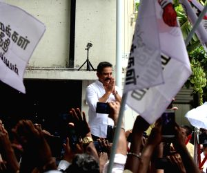 Kamal Hassan addresses party workers