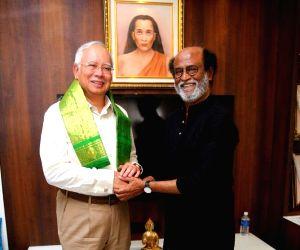 Malaysian PM meets Rajinikanth