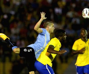 (SP)URUGUAY MALDONADO SOCCER U20 URUGUAY VS BRAZIL