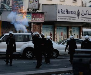 BAHRAIN MANAMA ANTI GOVERNMENT PROTEST CLASH