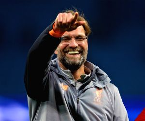 Liverpool coach Klopp wants great finish to Champions League run