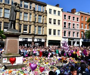 BRITAIN-MANCHESTER-TERROR ATTACK-NATIONAL MINUTE'S SILENCE