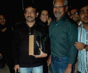 Mani Ratnam unveils AR Rahman's The Spirit of Music at Novotel, Juhu, Mumbai.