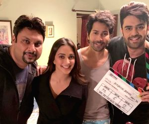 Maniesh Paul joins Varun, Kiara for shoot of 'Jug Jugg Jeeyo'