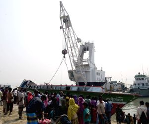 BANGLADESH MANIKGANJ FERRY ACCIDENT