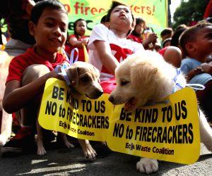 PHILIPPINES MANILA RALLY FIRECRACKER