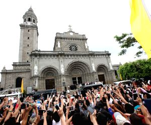 PHLIPPINES MANILA POPE FRANCIS VISIT