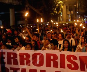 THE PHILIPPINES-MANILA-PROTEST RALLY-ANTI TERROR
