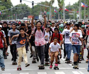PHILIPPINES-MANILA-INTERNATIONAL GO SKATEBOARDING DAY