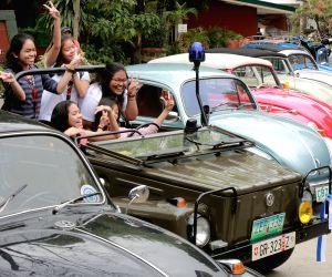 PHILIPPINES-MANILA-VOLKSWAGEN EVOLUTION-EXHIBITION