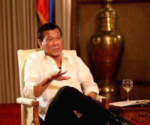 PHILIPPINES MANILA DUTERTE INTERVIEW