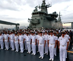 THE PHILIPPINES MANILA PRESIDENT AUSTRALIAN NAVY VISIT