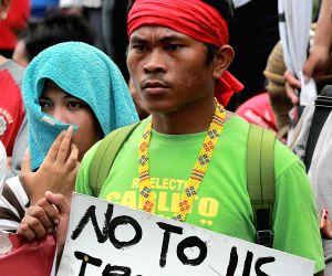 PHILIPPINES-MANILA-PROTEST