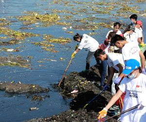 PHILIPPINES-MANILA-INTERNATIONAL COASTAL CLEANUP DAY