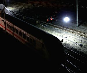 Ttrain collided with a freight train