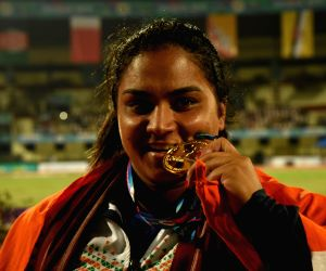 Asian Athletics Championship - Manpreet Kaur clinches gold for India